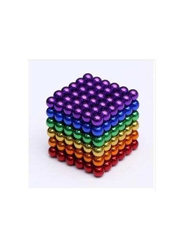Mashotrend Manyetik Mıknatıs Toplar 5Mm 216 Adet Neocube Neo Cube Küp Neodymium Renkli